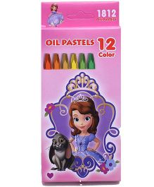 Sofia The First Oil Pastels Colors - 12 Shades