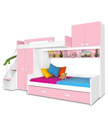 Alex Daisy Play Bunk Bed -  Pink