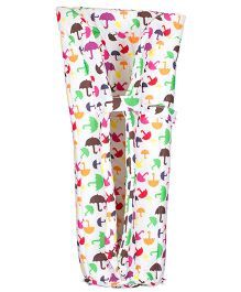 Grandma's Baby Carrier Insert Umbrella print - Multi Color