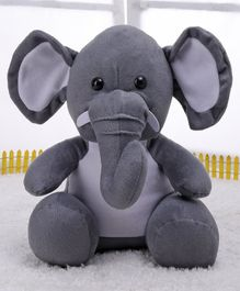 Play Toons Elephant Soft Toy Grey - 25 cm