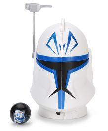 Star Wars Headsplitter Case Captain Rex - Blue And White