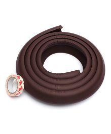 Kuhu Creations Edge & Corner Guards Crash Bar Children Safety Edge Guards Strip - Brown