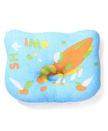 Du Bunn Shrimp Print Pillow - Blue