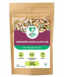 Little Moppet Baby Foods Sprouted Sathumaavu Mix - 200 gm