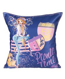 Winx Club Cushion Cover - Dark Blue