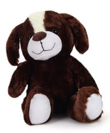 Starwalk Plush Dog Soft Toy Brown - 25 cm