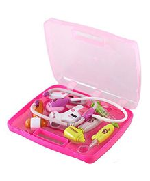 Webby Doctor Toy Set with Light Sound Effects - Pink