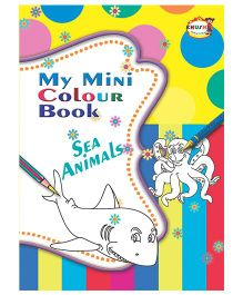 My Mini Color Book Sea Animals - English