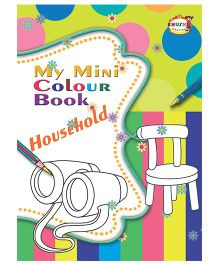 My Mini Color Book Household - English