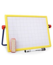 Ratnas Calligraphic Cum Chalk Board - Yellow