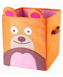 My Gift Booth Animal Storage Boxes - Orange & Brown