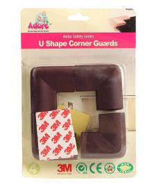 Adore Baby 'U' Corner Guard - Brown