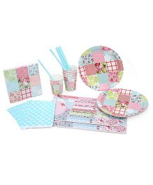 Shopaparty Patchwork Party Pack - Multicolor