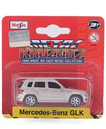 Maisto Die Cast Free Wheel Mercedes Benz GLK Car Toy - Silver