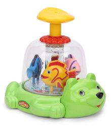 Kids Zone Royal Push And Spin Fish