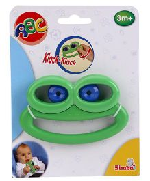 ABC Frog Rattle - Green