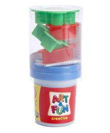 Simba Art And Fun Doughpot With Moulds Multicolor - 4 Pieces