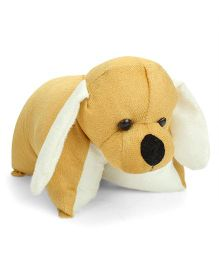 IR Folding Pillow Dog - Brown