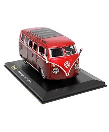 Bburago Die Cast VW Samba Van - Red