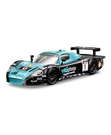 Bburago Die Cast Maserati MC12 Car - Blue And Black