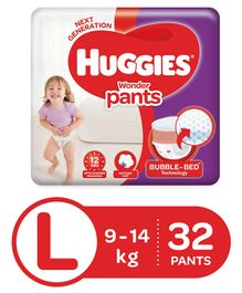 Huggies Wonder Pants Large Pant Style Diapers - 32 Pieces
