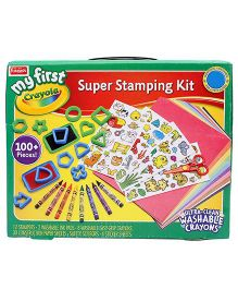 Funskool Crayola My First Super Stamping Kit - Multicolor