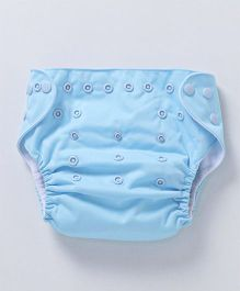 Bumberry Pocket Cloth Diaper with One Microfiber Insert - Baby Blue