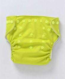 Bumberry Pocket Cloth Diaper With One Microfiber Insert - Bright Green