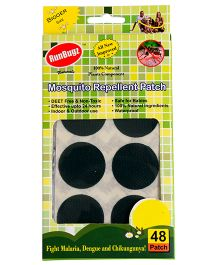 RunBugz Mosquito Repellent Patch Green - Pack Of 48