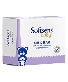 Softsens Baby Milk Bar Soap 100 gm - Pack Of 3