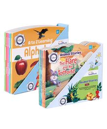 FirstCry Intellitots Preschool A to Z Learning - English & FirstCry Intellitots Preschool Animal Stories - English