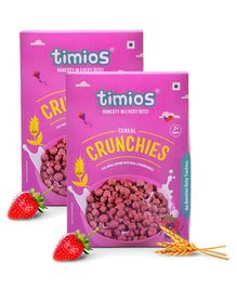 Timios Breakfast Cereals Crunchies 300 grams - Pack of 2