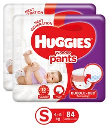 Huggies Wonder Pants Small Pant Style Diapers - 42 (Pieces Of 2)