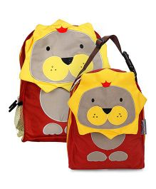 My Milestones Toddler And Kids Backpack & Lunch Bag Lion - 13 inch