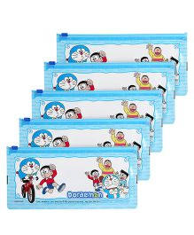 Doraemon Pouch - Blue -Pack of 5