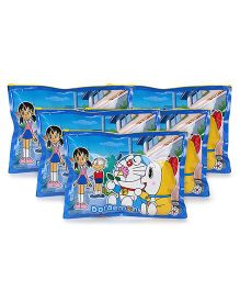 Doraemon Sparkle Pouch -  Blue -Pack of 5
