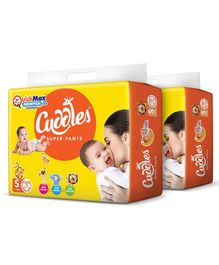 Cuddles Pant Style Diapers Small - 78 Pieces (Pack of 2)