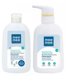 Mee Mee Baby Accessories And Vegetable Liquid Cleanser and Laundary Detergent - 300 ml