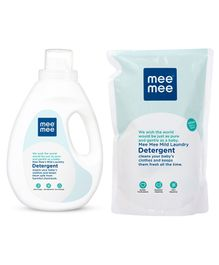Mee Mee 1500 Ml laundry Detergent with 500 ml Refill pack