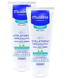 Mustela Stelatopia Emollient Cream - 200 ml  - Pack  Of 2