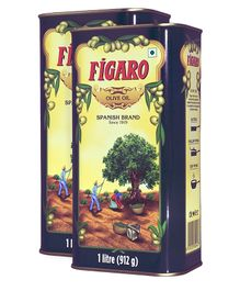 Figaro Olive Oil - 1 Liter -Pack Of 2