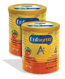 Enfagrow A- Stage 4 Nutritional Milk Powder Vanilla - 400 grams - Pack of 2