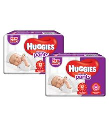 Huggies Wonder Pants Extra Small Pant Style Diapers - 12 Pieces ( Pack of 2 )
