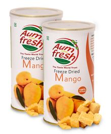 Aumfresh Freeze Dried Mango - 25 gm - Pack of 2