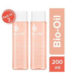 Bio Oil - 200 ml Pack of 2 (Specialist Skin Care Oil - Scars, Stretch Mark, Ageing, Uneven Skin Tone)