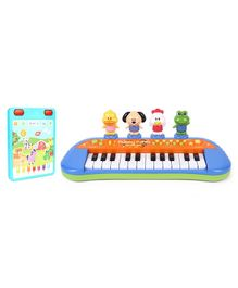 ABC Funny Animal Farm Keyboard - Multi Color &  ABC Tablet With Lights & Music - Blue