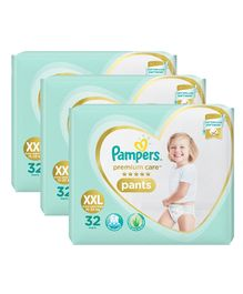Pampers Premium Care Pant Style Diapers XX Large Size - 32 Pieces ( Pack of 3 )