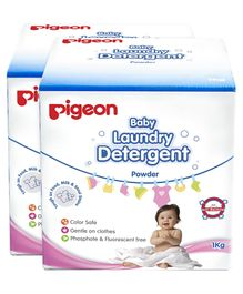 Pigeon Baby Laundry Detergent Powder - 1 Kg(Pack of 2)