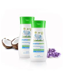 mamaearth Gentle Cleansing Shampoo For Babies - 200 ml ( Pack of 2 )