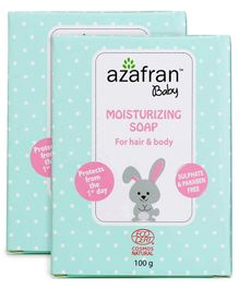 Azafran Baby Nourishing Soap -Pack of 2-100gm